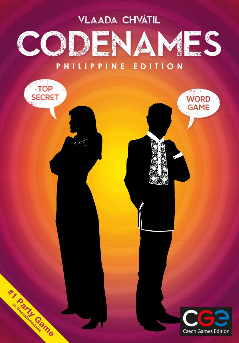 Codenames Philippine Edition to be Released on June 2016