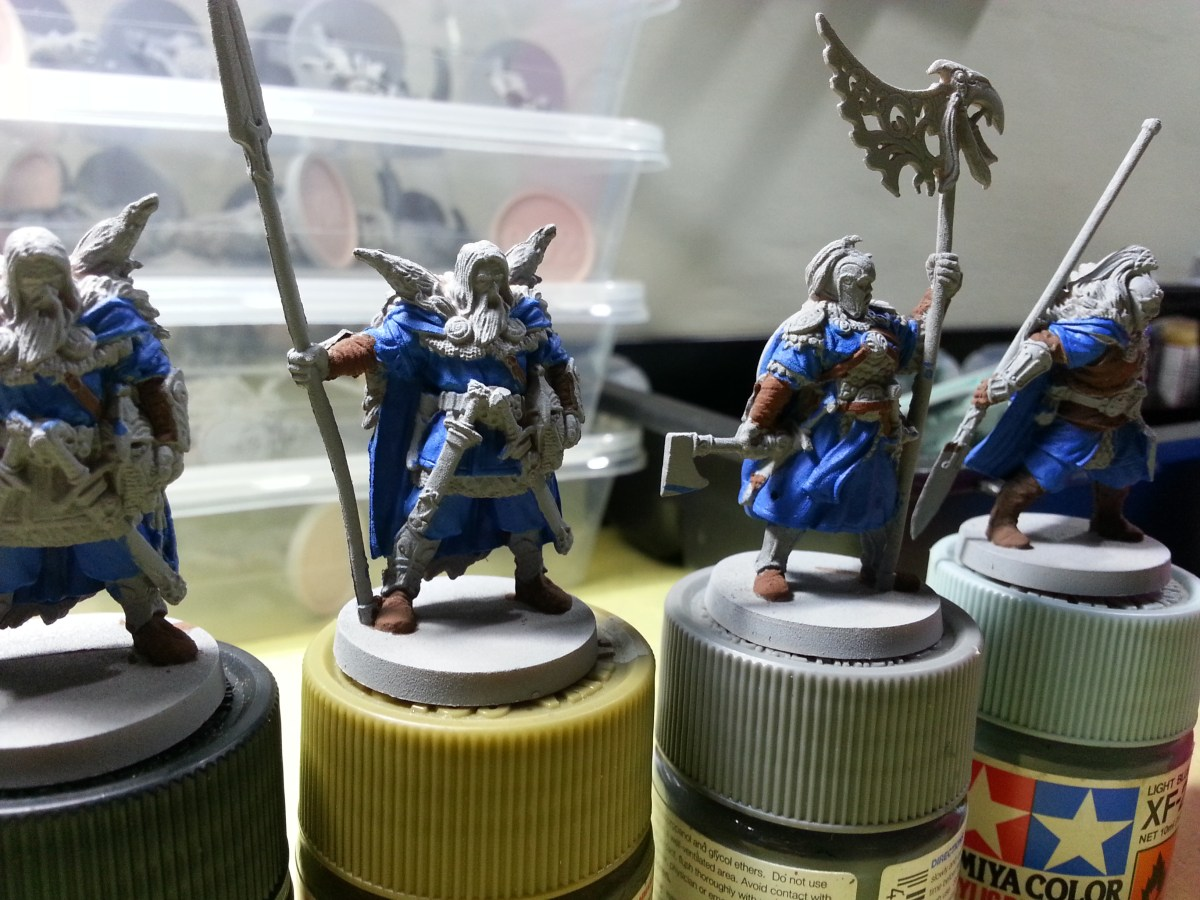 A Complete Beginner's Guide to Miniature Painting – Part 3: Basecoating