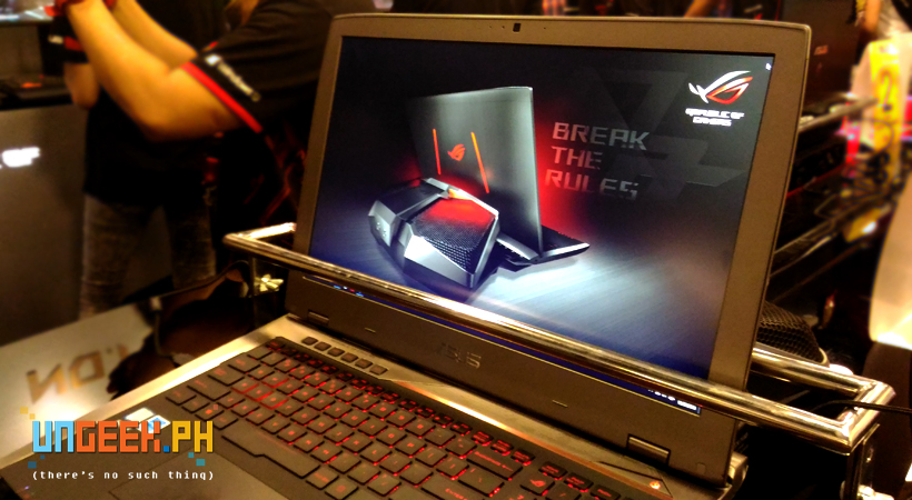This core i7, GTX980 carrying gaming notebook is a monster...