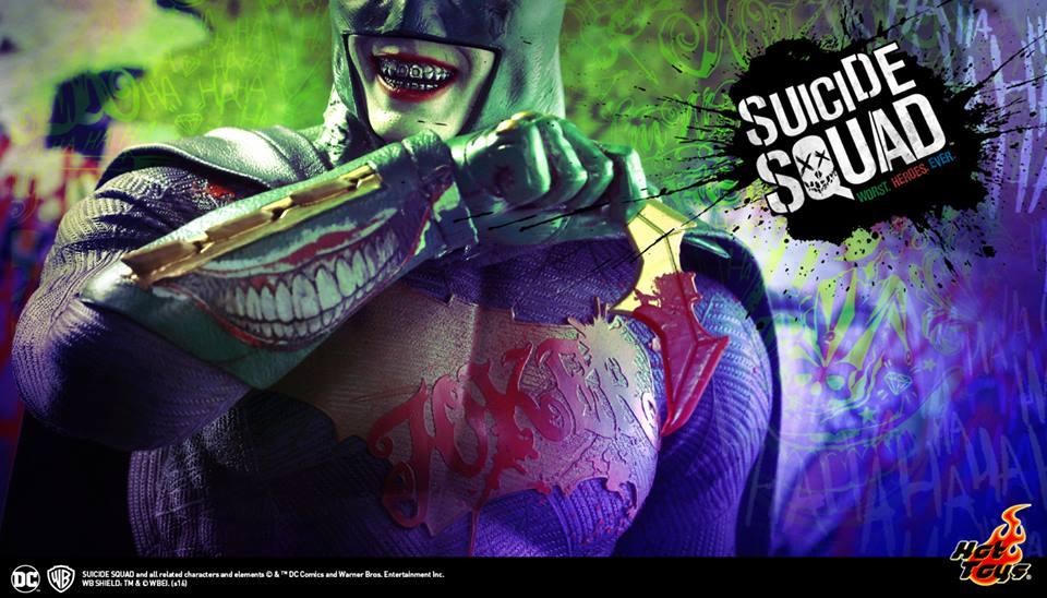 "SDCC 2016: Hot Toys shows a sneak peek of ""Suicide Squad"", including ""Imposter Batman"" Joker!"