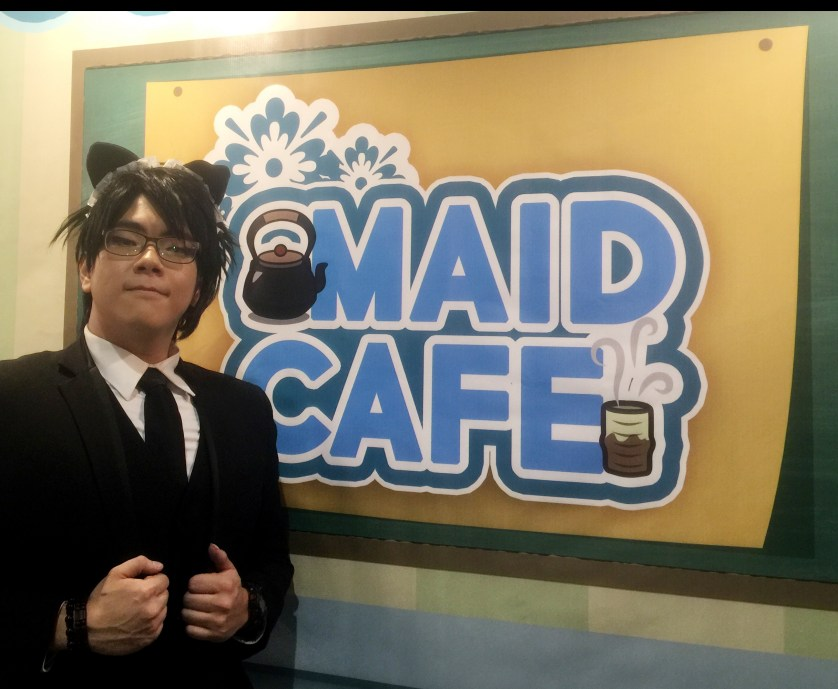 Maitre d at Maid Cafe