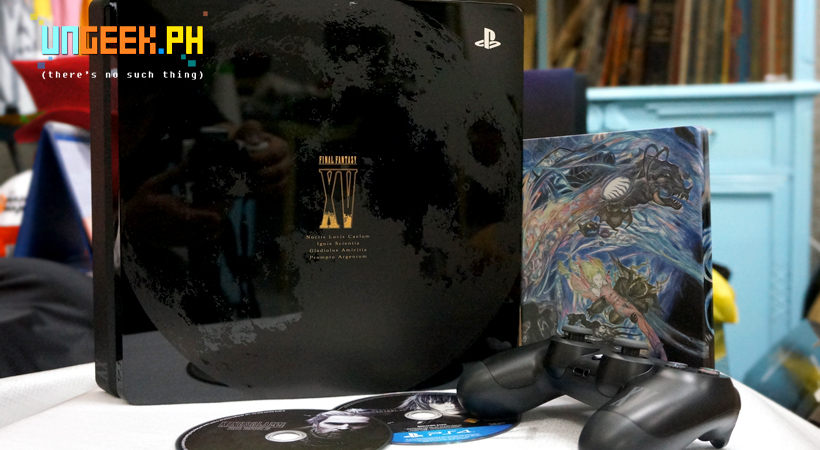 Unboxing the beauty that is the PlayStation 4 Slim Final Fantasy XV Luna Edition