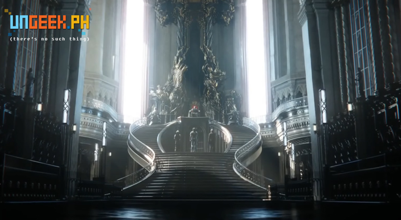 A throne room has never looked so majestic.