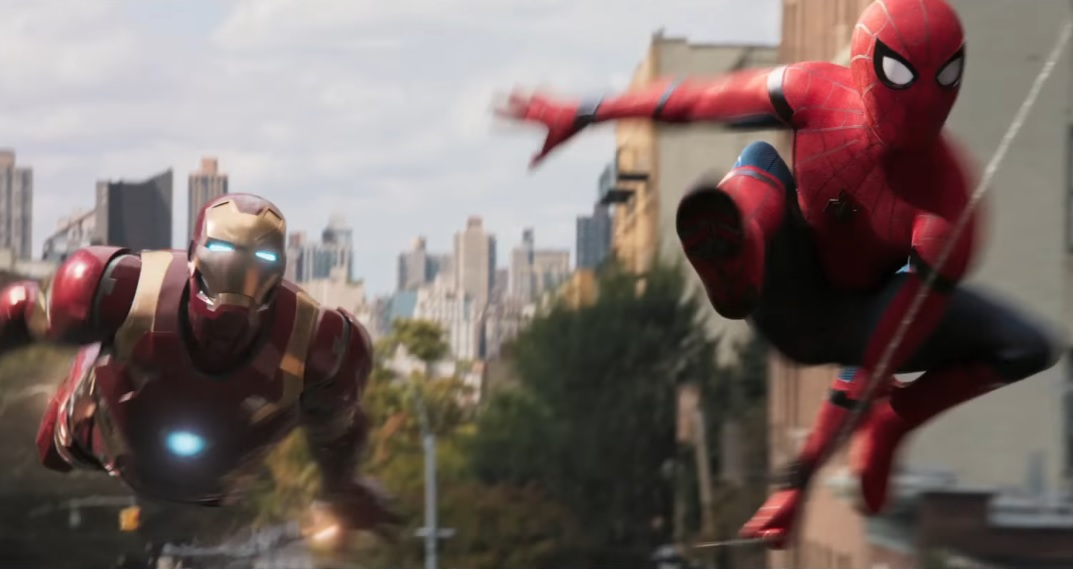 Spider-Man: Homecoming releases its First Trailer and Iron Man's in it!