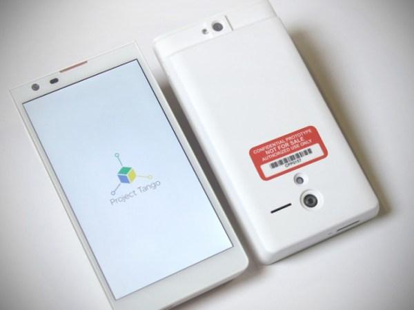 «Project Tango» de Google Tango-phones