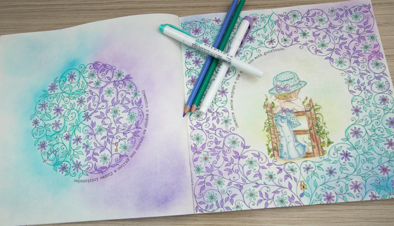 ideias jardim secreto:peq_jardim secreto pinturas ideias inspirações17