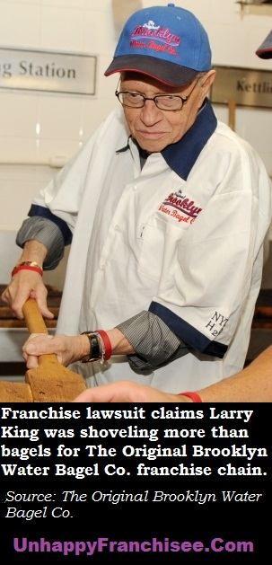 Larry King Brooklyn Water Bagels