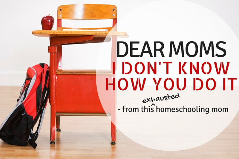 Letter from a Homeschooling Mom