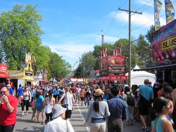 fair crowds