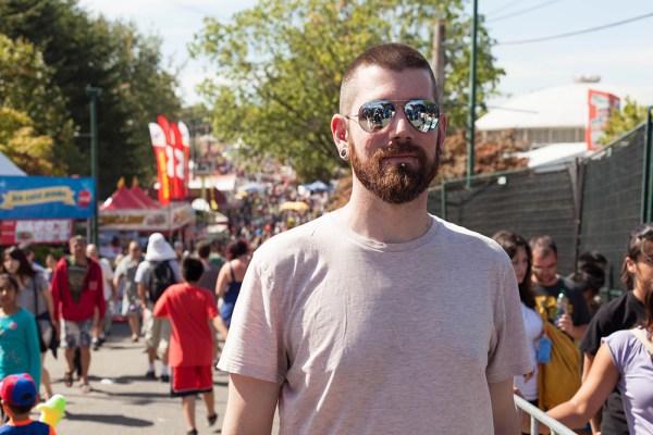 taylor at the fair