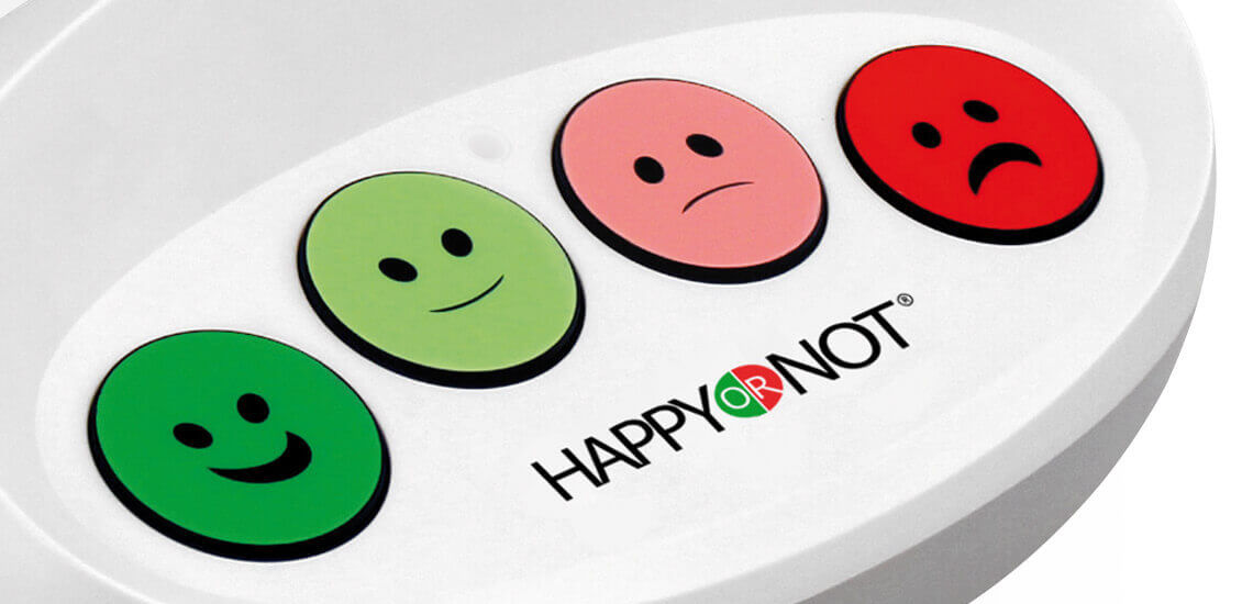 HappyOrNot® Smiley Terminal