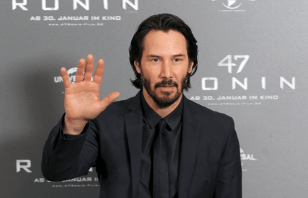 Image result for KEANU REEVES HAS BEEN RUNNING A SECRET CANCER FOUNDATION