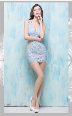 Small Of Sky Blue Dress