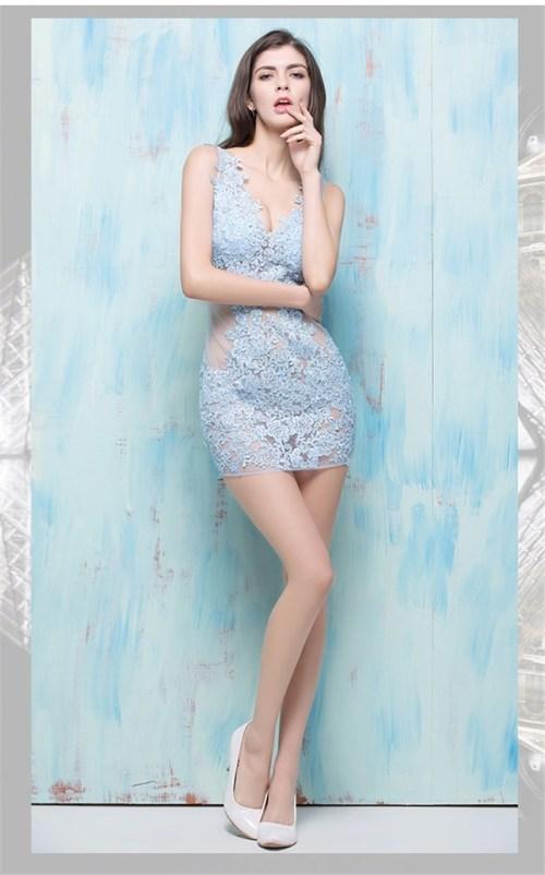 Medium Of Sky Blue Dress