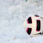 VARESE, ITALY - DECEMBER 04:  The ball in the snow during the Serie B match between Varese and Reggina at Stadio Franco Ossola on December 4, 2010 in Varese, Italy.  (Photo by Claudio Villa/Getty Images)