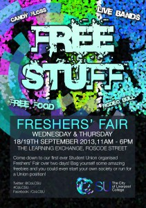 A5 Freshers Fair Flyer_FRONT_v.3
