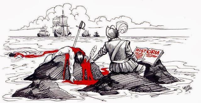 Ilustración: Carlos Latuff, 2008.