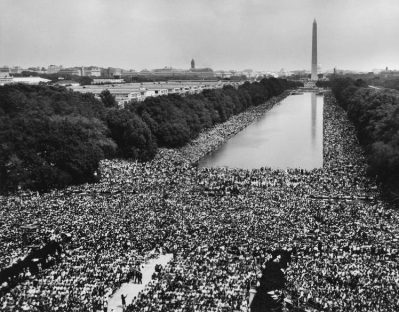 Marcha sobre Washington (Foto: U.S. Information Agency, Press and Publications Service).