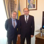 Dr. Massimo Restivo with Gen. But Vitalyi Petrovich former Ukraine State Emergency Service Minister