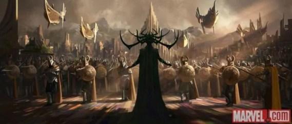 La temibile Hela in azione nel video dal set di Thor: Ragnarok
