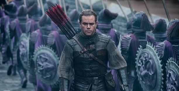Matt Damon si lancia nella battaglia nel nuovo poster internazionale del kolossal The Great Wall