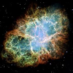 Crab Nebula. Image credit: Hubble