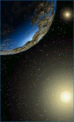 Artist illustration of planets around Alpha Centauri. Image credit: UC Santa Cruz
