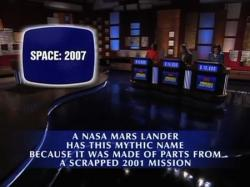 Phoenix makes an appearence on the US TV quizshow Jeopardy! (credit: Jeopardy! Productions, Inc.)