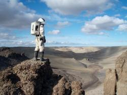 Simulated Mars Mission.  Image Credit:  The Mars Society