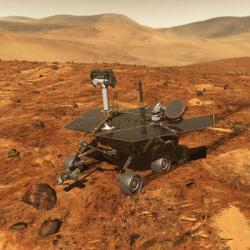 The MER Spirit Rover (credit: NASA)