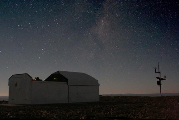SuperWASP South. Image Credit:  David Wilson