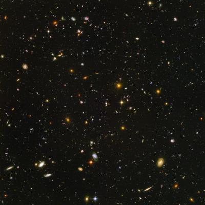 Hubble Deep Field. Image credit: Hubble