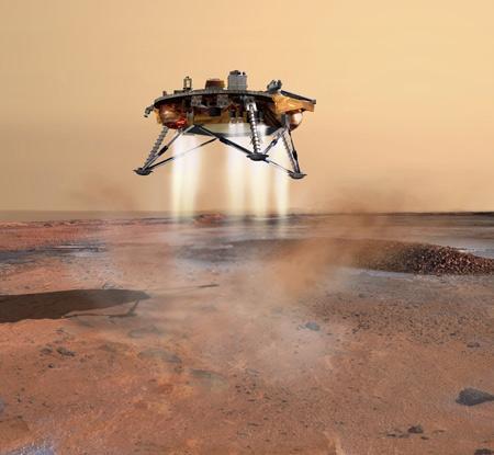 Phoenix Lander. Image credit: NASA/JPL