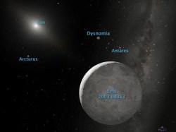Artist illustration of Eris. Image credit: NASA