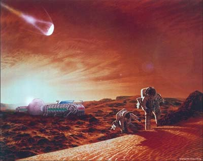 Mars Explorer. Image credit: NASA