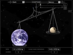 Solar System Game. Credit: NASA