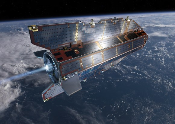 GOCE:  Spacecraft of the future is here! Credit:  ESA