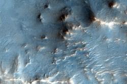 "Nili Fossae region on Mars, a methane ""hotspot: Credit: NASA/JPL/U of AZ"