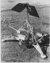 Model of NASA's Surveyor 1. Image credit: NASA