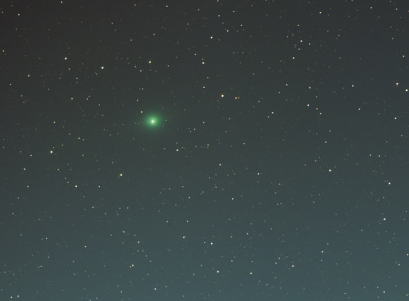 Comet Lulin on January 11, 2009.  Credit: Gregg Ruppel