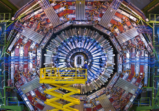 Repair work on the LHC continues... (CERN/LHC)