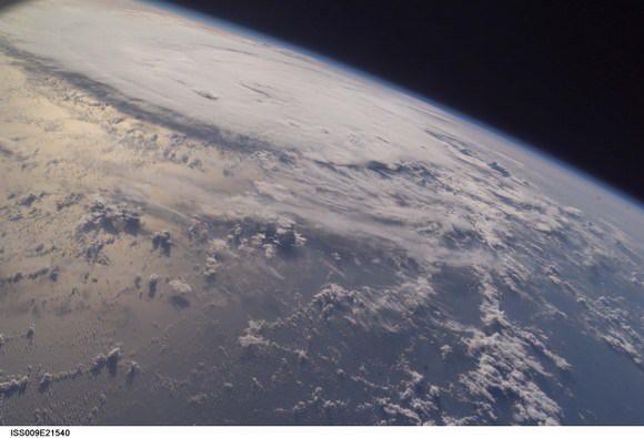 Earth as seen from the ISS. Credit: NASA