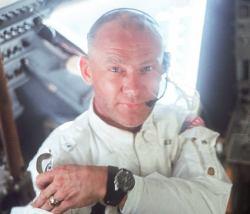 Buzz Aldrin during the Apollo 11 mission. Credit: NASA
