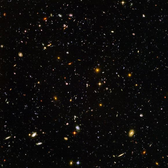 Hubble Ultra Deep Field. Credit: NASA