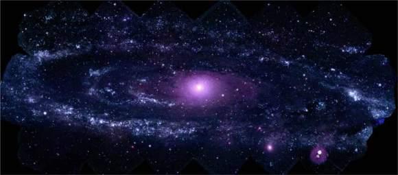 Andromeda by the Swift Telescope.  Credit: NASA/Swift/Stefan Immler (GSFC) and Erin Grand (UMCP)