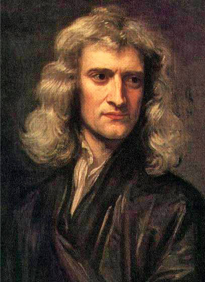Godfrey Kneller's 1689 portrait of Isaac Newton at age 46. Image credit: Isaac Newton Insitute