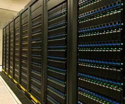 A supercomputer.