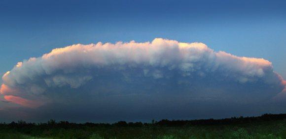 Cumulonimbus clouds. Credit: NASA
