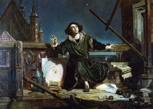 Astronomer Copernicus, or Conversations with God, by Matejko. Credit: frombork.art.pl/pl/