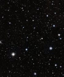 Image of the assembly of galaxies. Credit: ESO